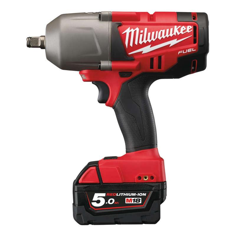 Milwaukee M18CHIWF12-502X M18 Fuel Friction Ring Impact Wrench