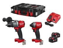 Milwaukee M18FPP2L2-502P M18 Fuel Twin Pack in Packout case