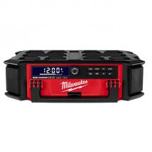 Milwaukee M18 PRCDAB+ PACKOUT Radio & Charger With DAB+ & Bluetooth