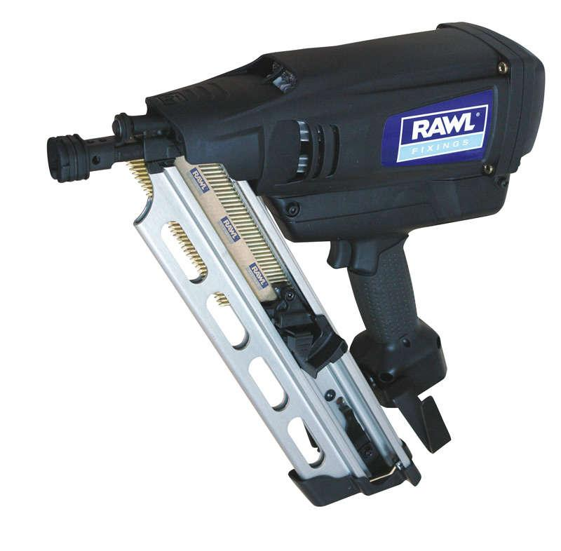 Rawlplug WW90CH Gas Framing Nailer with 2 batteries