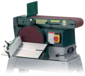 RECORD BDS250 10Inch x 6Inch Belt & Disc Sander