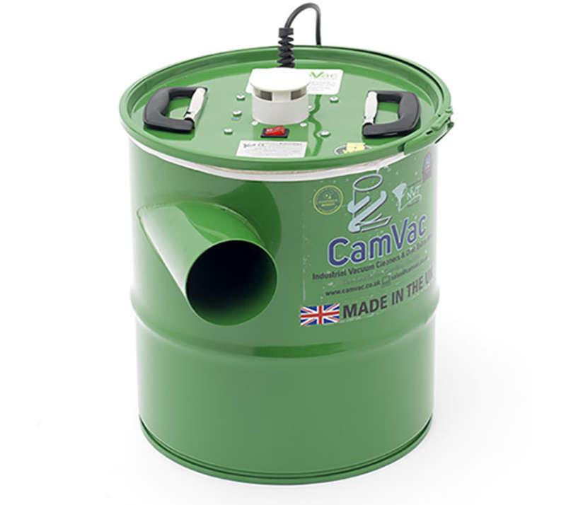 Record Power CGV286-3 CamVac 36L 1000w Vacuum with 4inch Inlet