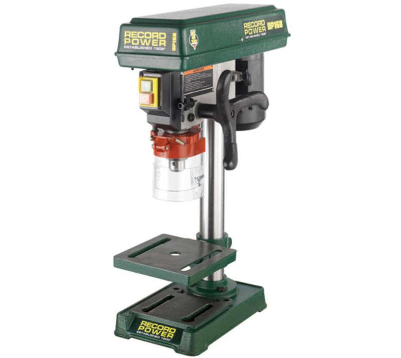 RECORD DP16B Bench Drill with 13inch Column and 1/2inch Chuck