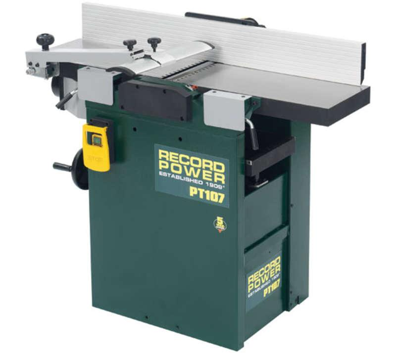 Record PT107 10inch x 7inch Heavy Duty Planer Thicknesser