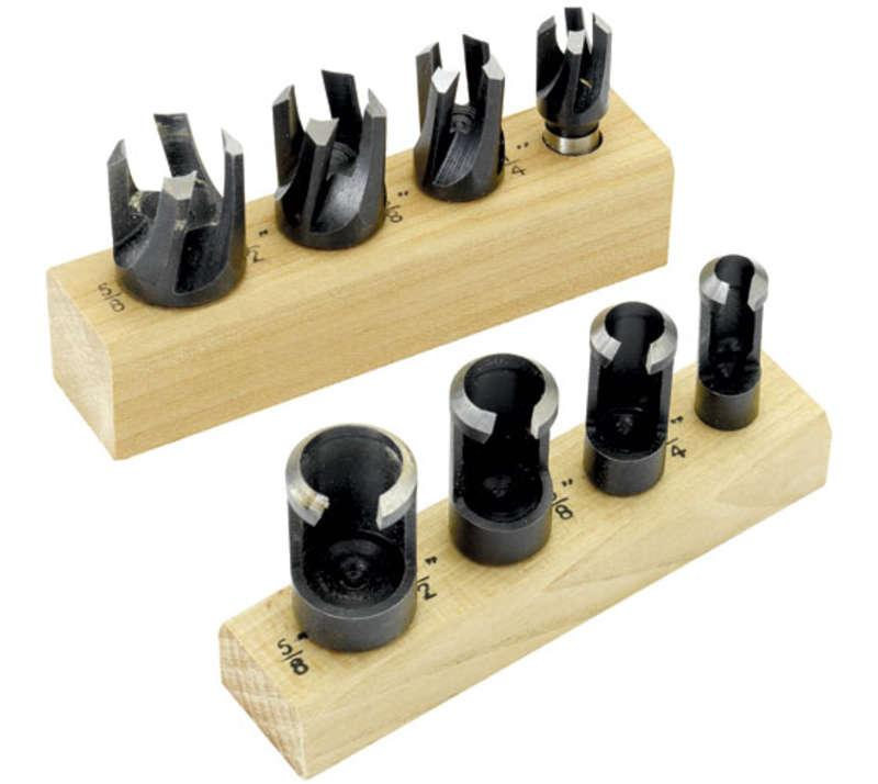 Record Power RPPCS8 8 Piece Plug Cutter Set