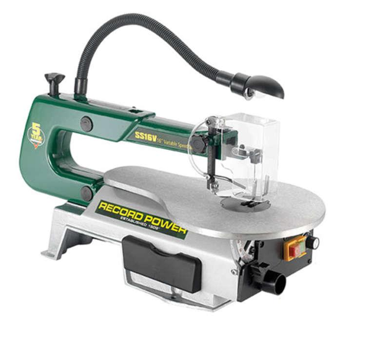 Record 54100 SS16V - 16 Variable Speed Scrollsaw With Light