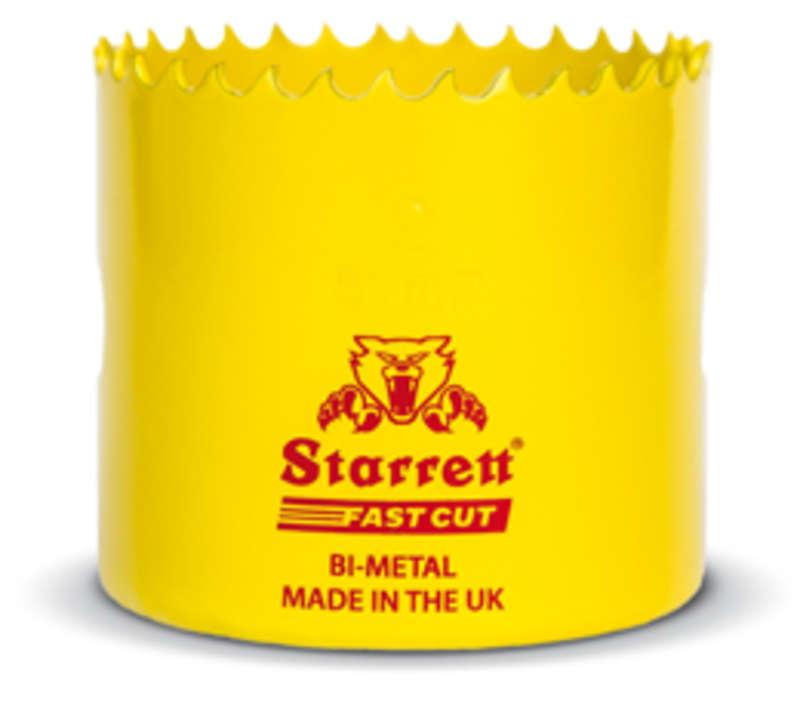 Starrett AX5090 41mm Bi-Metal Fast Cut Hole Saw