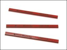 Blackedge Carpenters Pencil - Red/ Medium