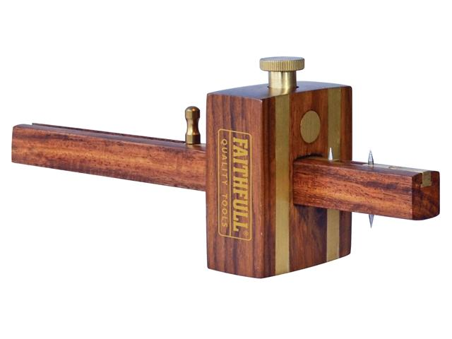 Faithfull Combination Rosewood Mortice Gauge - Slide Adjust