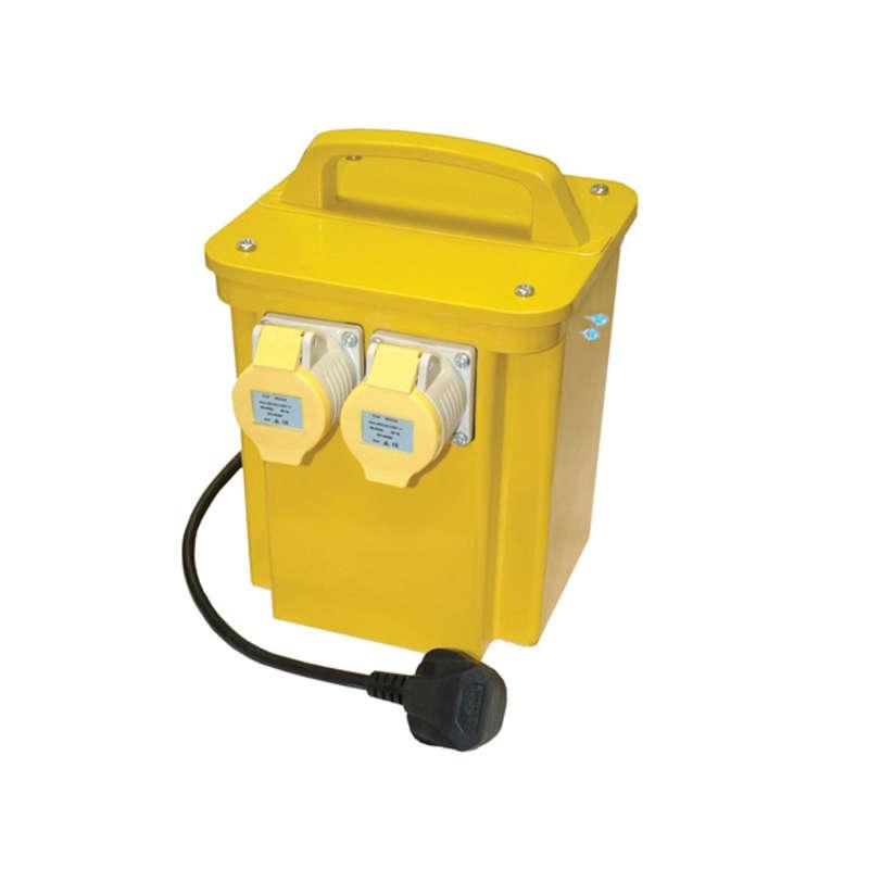 Faithfull 3.3KVA Twin Outlet 110v Transformer