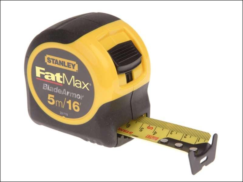 Stanley Fat Max Tape 5M/16Ft 0-33-719