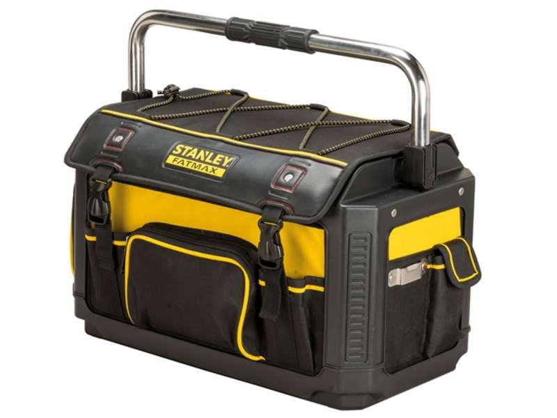 Stanley Tools FatMax Plastic Fabric Open Tote with Cover