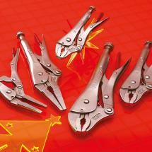 Crescent Locking Plier Set, 5 Piece