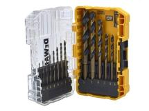 DEWALT DT70727 Black & Gold HSS Drill Set 14 Piece