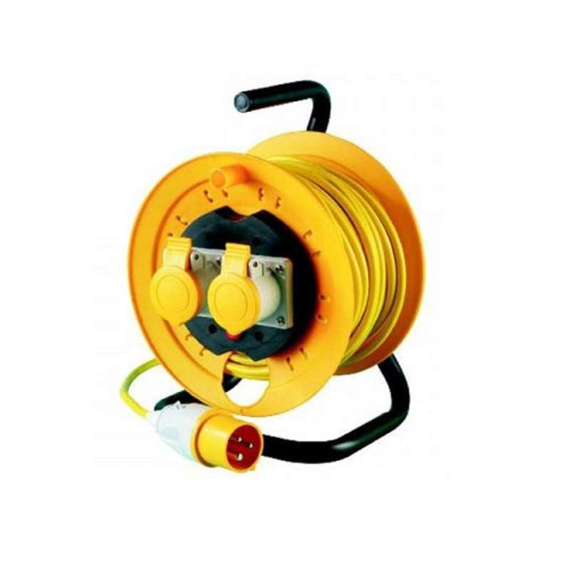 Thorsman JJR22516 25 Metre x 1.5mm x 110 Volt Cable Reel