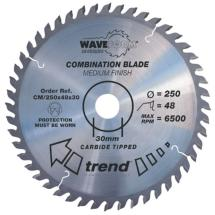 Trend CM/250X48X30 Saw blade combination 250mm x 48 teeth x 30mm