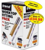 Trend Worktop Fitting Pack with free thermal mug