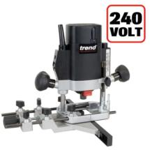 Trend T5EB 1000W 1/4inch Variable Speed Router 240V