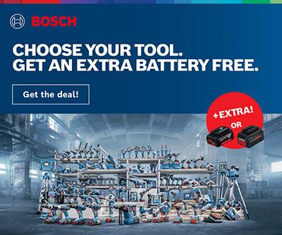 Bosch Battery Deal