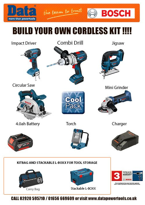 Build your own Bosch cordless tool kit