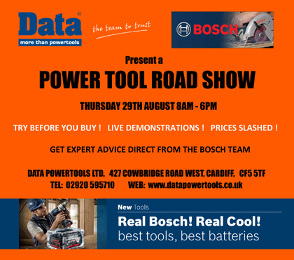 Bosch Power Tool Road Show