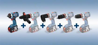 Bosch Flexiclick Drill System