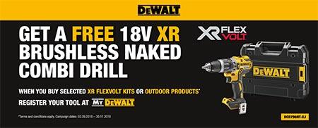 Free Cordless Drill