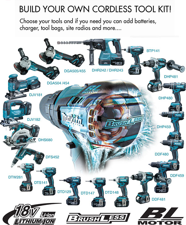Data More Than Power Tools Build Your Own Makita