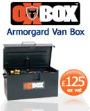 Armorgard Oxbox Vanbox Security Tool Chest