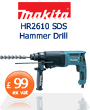 Makita HR2610 SDS Hammer Drill