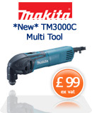 Makita TM3000C Multicutter