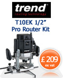 Trend T10EK Heavy Duty Router
