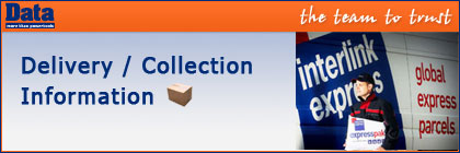 Delivery & Collection Information