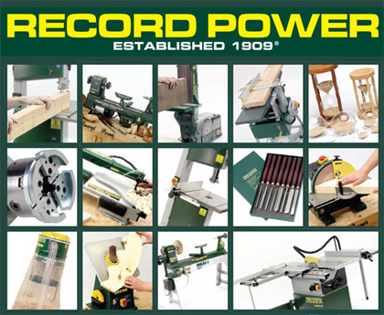 Data - more than power tools ! - Record Power Woodworking Machinery ...