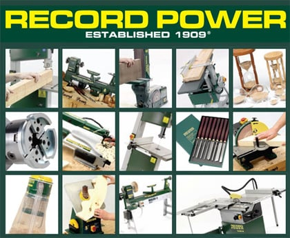 ... than power tools ! - Record Power Woodworking Machinery & Accessories
